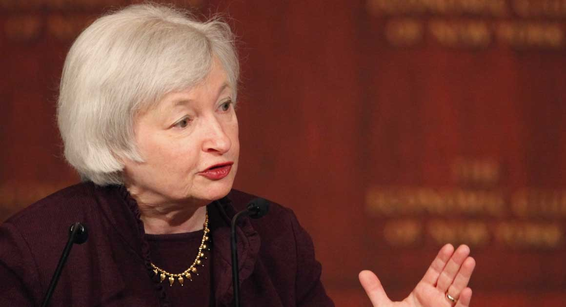 http://www.politico.com/story/2014/02/janet-yellen-takes-over-the-fed-and-takes-on-politics-103008